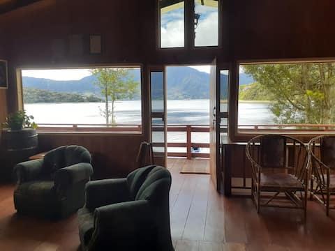 Arcoiris del lago 2