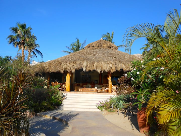 Secret Garden Luxurious Palapa Home