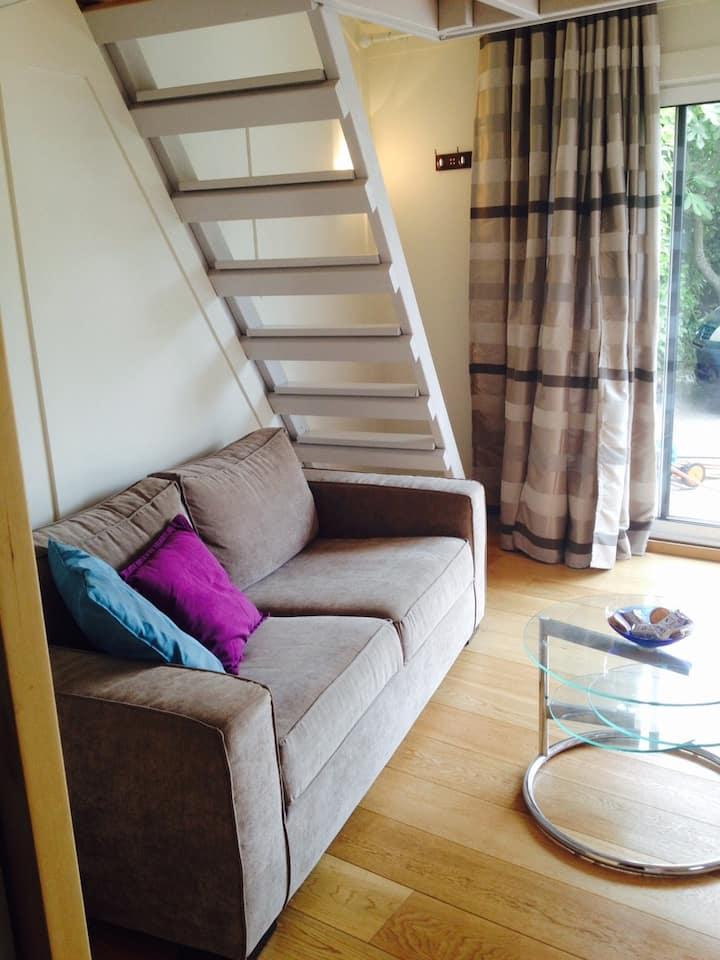 Studio apartment with mezzanine - Portes du Médoc