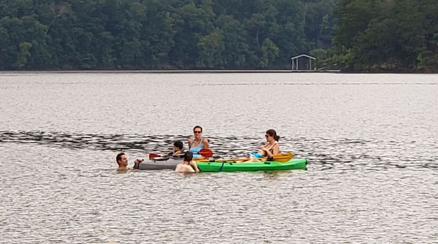 Leesville Lake Lakehouse in Bedford County VA