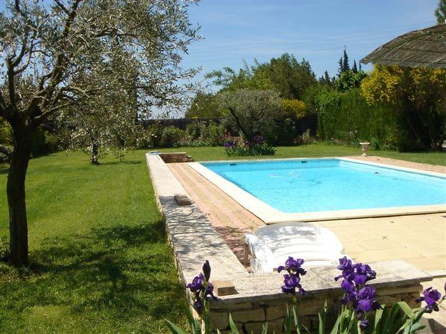 Le Mazet du Comtat Gite LE BASSIN - Monteux - Apartment