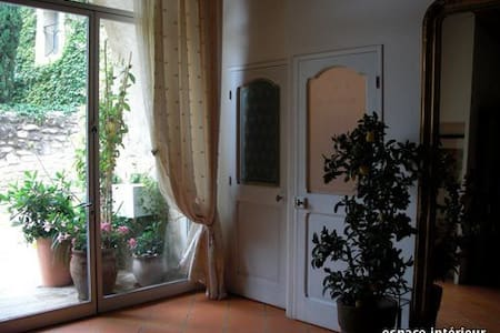 Maison dans vieux village Provençal - Saint-Hilaire-d'Ozilhan