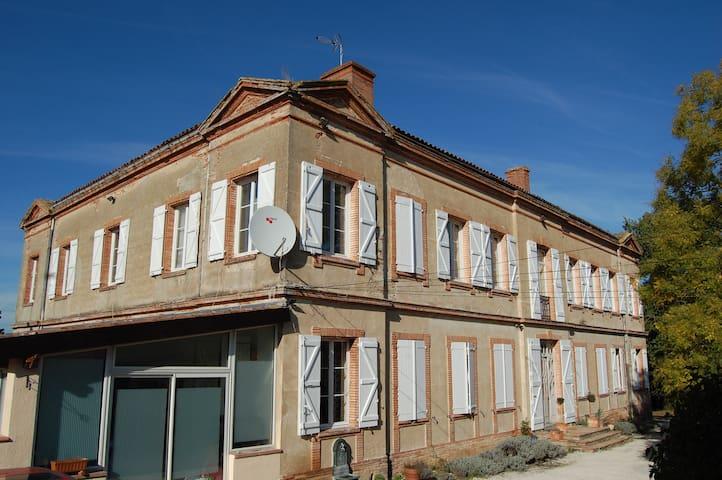 Chateau de Faudade Apt upto 6 pple - Lévignac - Castle