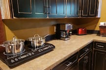 Cooktop and Coffee maker