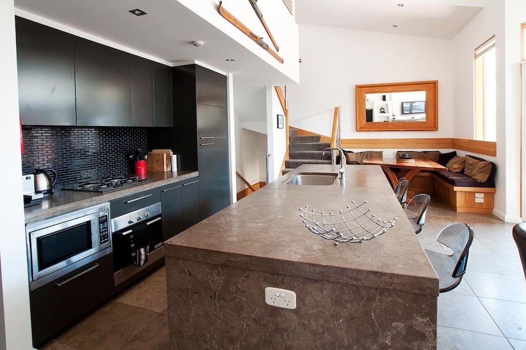 Powder 2b Kitchen/Dining Area