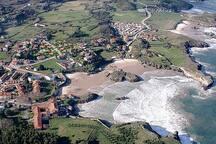 Playas de Celorio a 600 m caminando