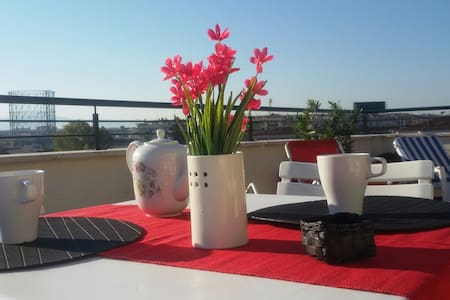 Bright penthouse with terrace - Rome