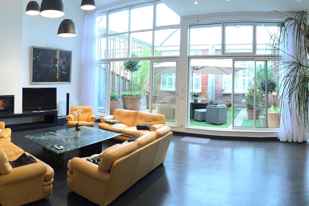 loft saint leu lofts louer amiens picardie france. Black Bedroom Furniture Sets. Home Design Ideas