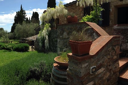 Relax & wine in an ancient farm - Sovicille - Haus