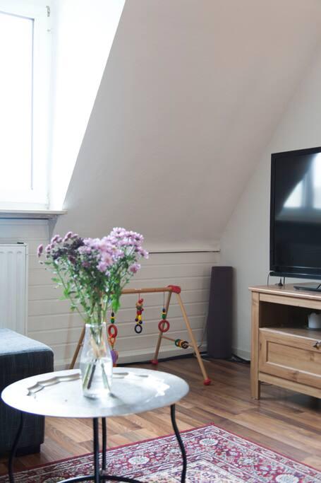 cozily living room/ gemütliches Wohnzimmer