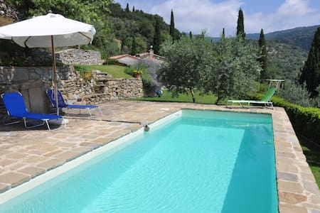 Private Home, Pool, Free WiFi, Views, Walk Cortona - Cortona