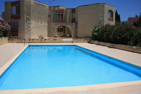 Apartment with pool close to Beach - Bahar ic-Caghaq - Daire