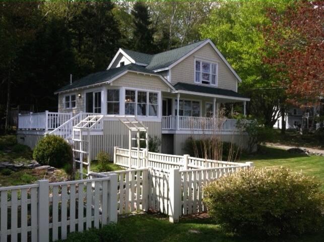 The Nutshell - Peaks Island Maine - Portland - House