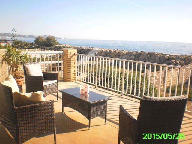 Wunderschöne Wohnung direkt am Meer - Cullera - Appartement