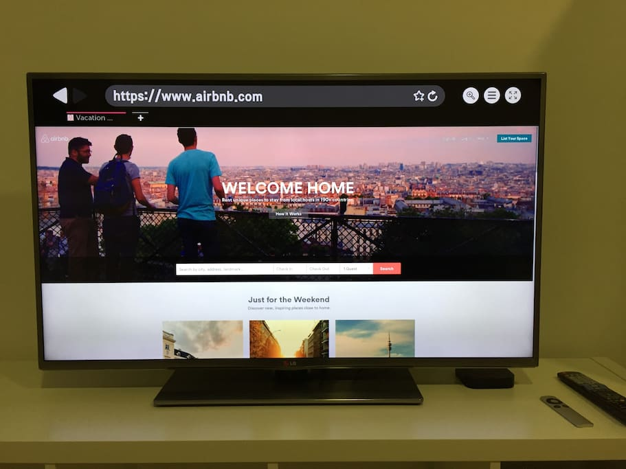 Smart TV + Apple TV