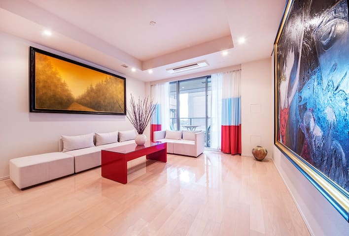 Luxury 2-bedroom home, easy metro access - Minato-ku - Wohnung