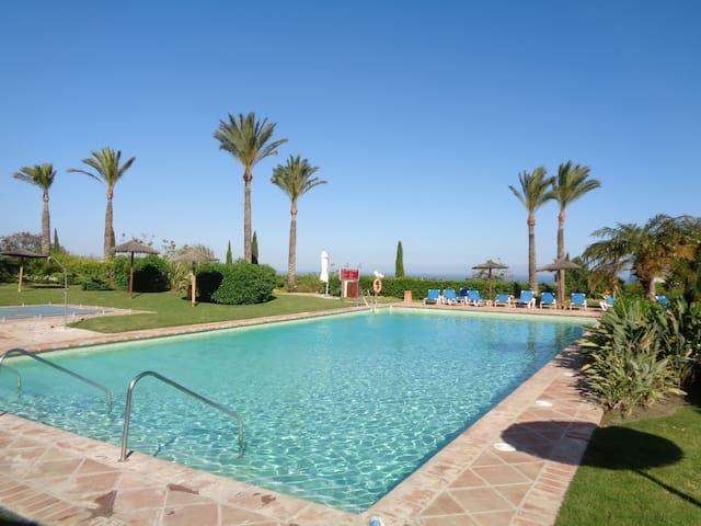 2br luxury apartment w own garden; perfect holiday