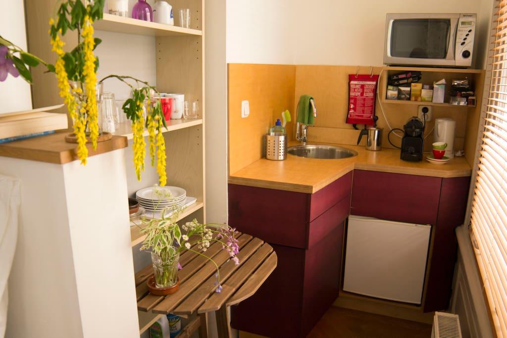 Kleine privé keuken