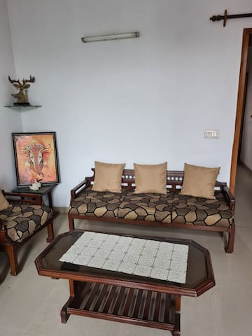 Bubbly's Independent 1 BHK house in Vasant Kunj.