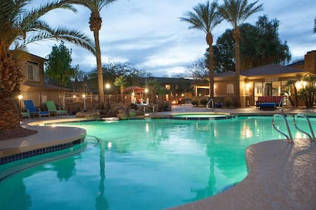 Master/Priv.b - Townhome Ahwatukee Foothills area - 凤凰城 - 连栋住宅