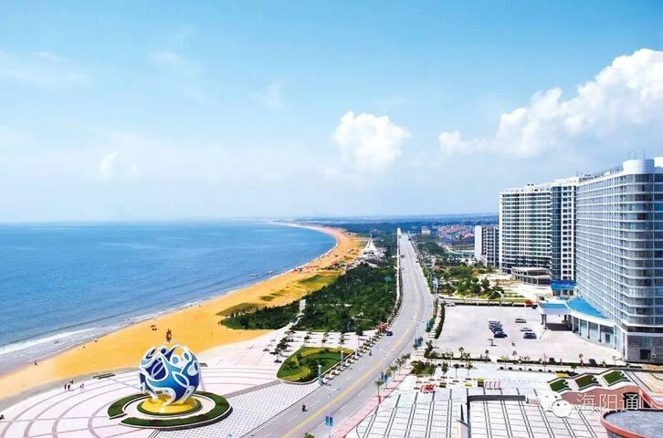 万米沙滩高层海景房