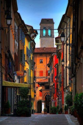 Nest in the heart of old Piacenza - Piacenza - Huoneisto