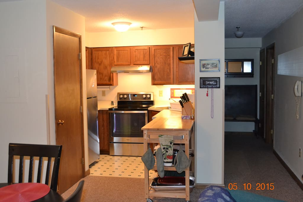 Full Kitchen with New Stainless Appliances
