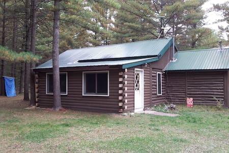 Cabin Fever-Log cabin on 5 acres - Baldwin