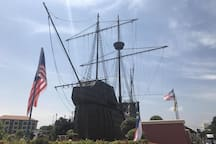 Big ship museum in Melaka Must go take photo and visit the museum 打卡打卡大船