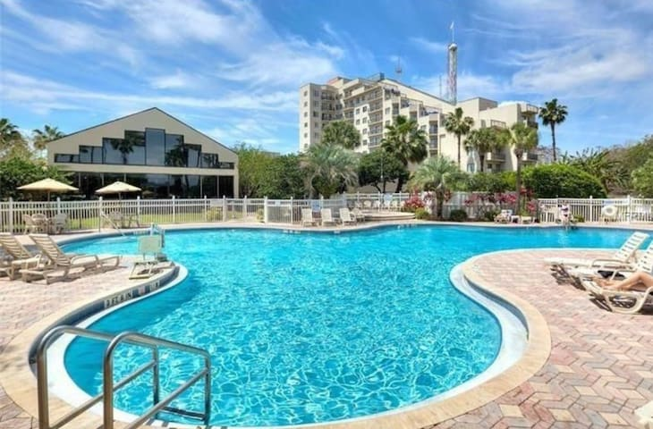 Heart of tourism spots and parks, Two Bed/Two Bath - Orlando - Appartement