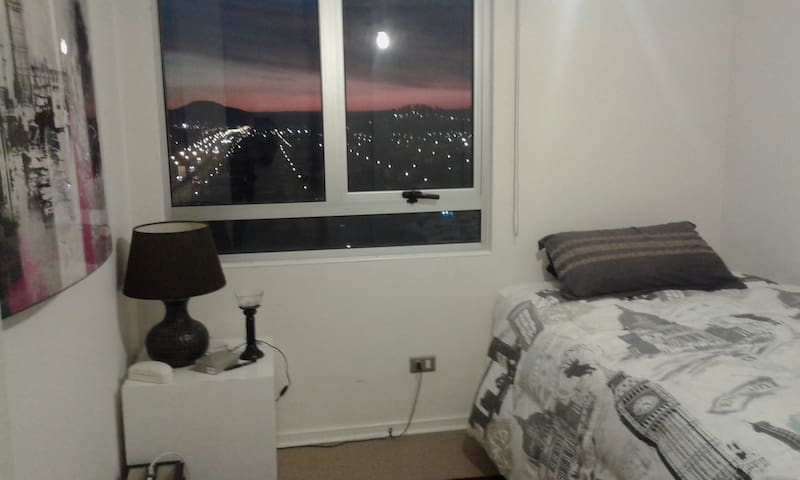 Habitación muy cómoda. - concepción, talcahuano. - Apartament