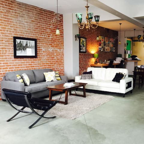 Elegant Loft in Historic District