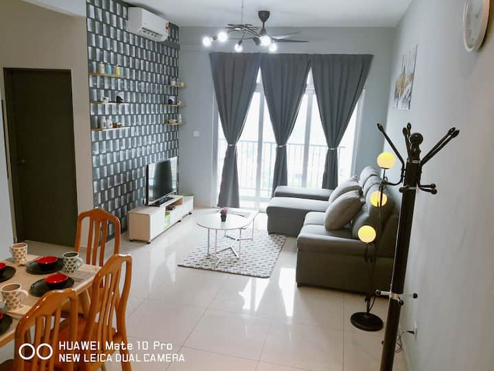 Mcz homestay@ipoh tower*WiFi*(7~8pax)
