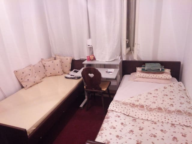 Cosy room not far from centre - Belgrado - Huis