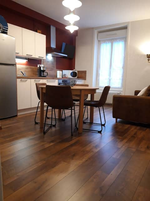 Friendly apartment renovated classified 2*