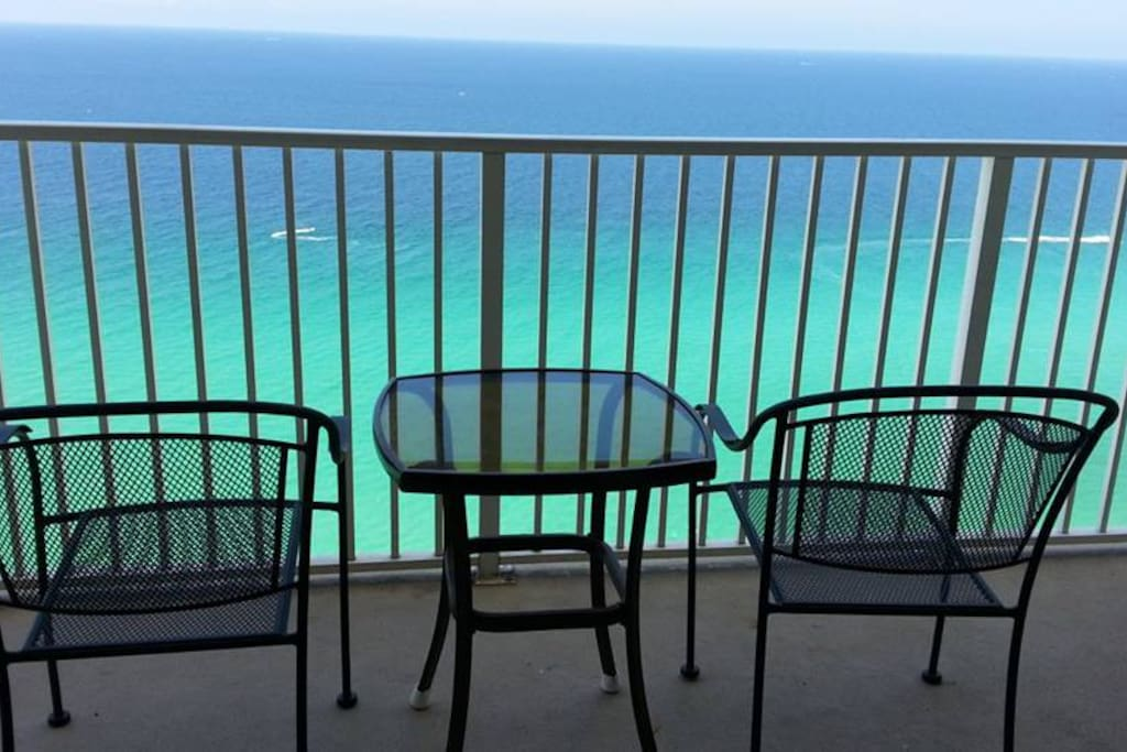 Ocean View from the Gulf Front Condo