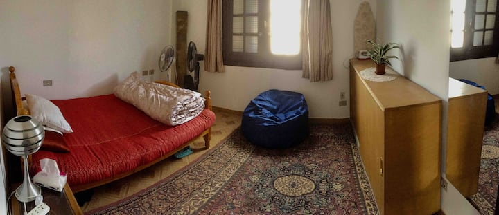 Private room in Al Narges, near AUC (women only)