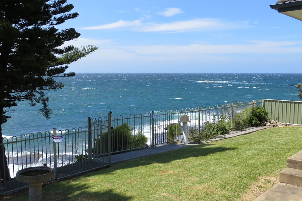 Views from the front yard down to Culburra beach