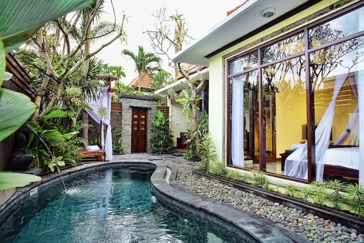 Entire Villa Monthly 1 Bedroom in Canggu