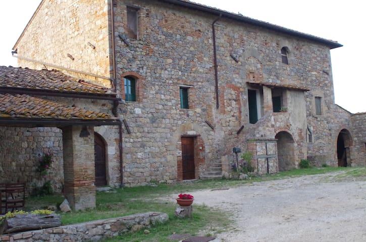 """Appartamento """"volpe"""" a Scorgiano - Monteriggioni"""