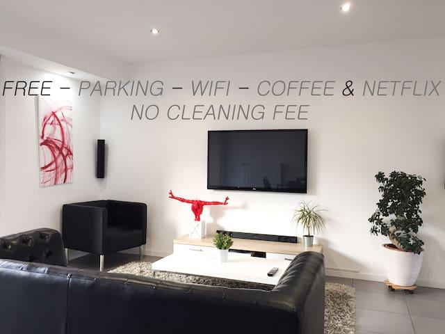 Spacieux & confortable appartement moderne de 75m2