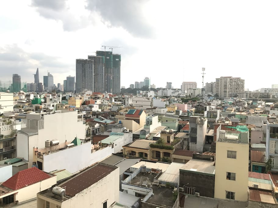 City View from one of the most desirable tower in Ho Chi Minh City