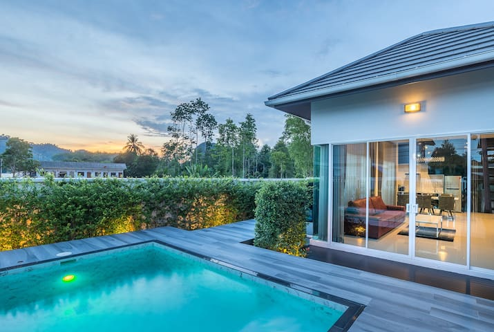 The Haven Krabi 3 BDR Pool Villa1+Rooftop Terrace