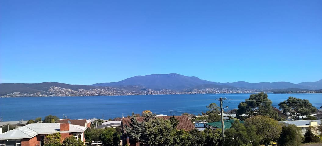 Stunning views of Hobart City - Howrah