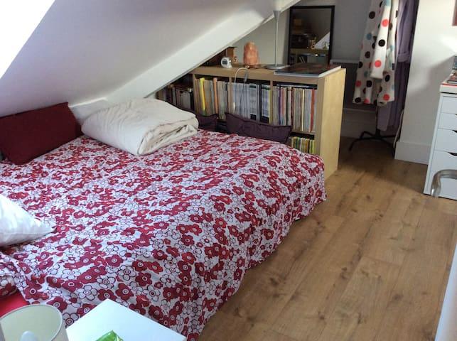 Chambre privée avec salle de bain - Rambouillet - Apartment