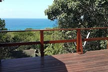Top deck with sea view