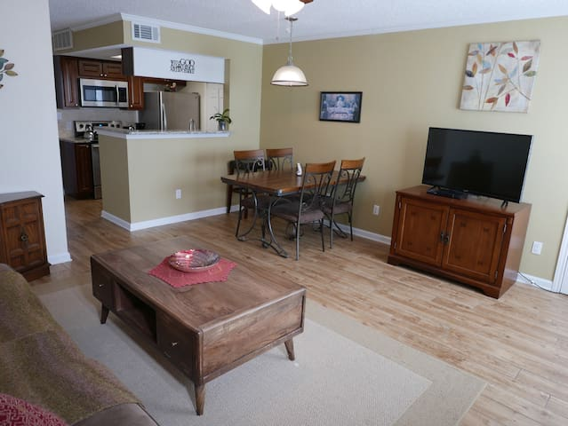 Furnished 1 BR Apartment, recently remodeled.