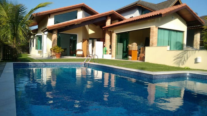 Peruíbe, piscina, prox mar. 8 p. Oferta Semanal