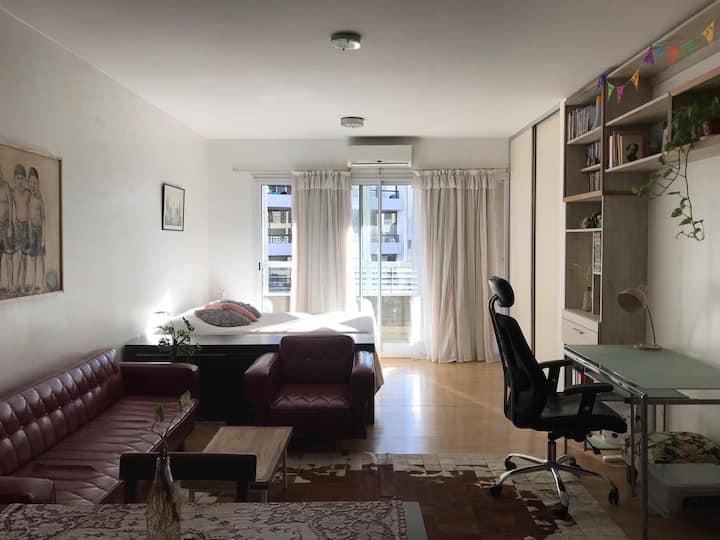 Confortable y luminoso departamento en Belgrano