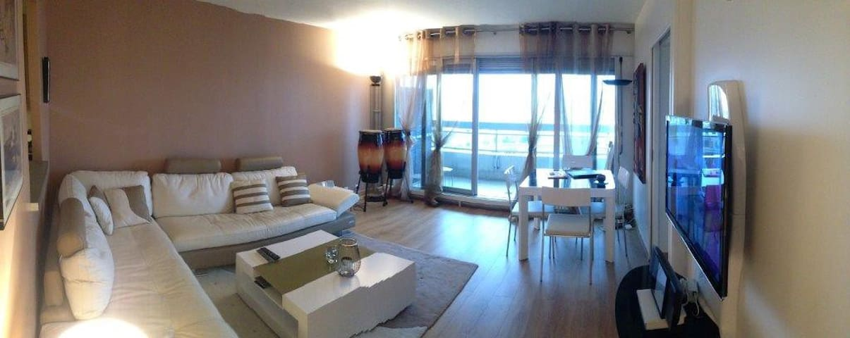 Super upscale 1 bed, all amenities, great views - Paris - Daire